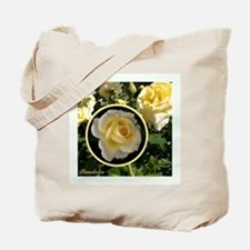 "English Rose ""Peaudouce"" Tote Bag"