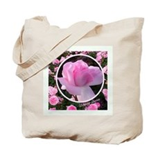 """English Rose """"Beauty Queen"""" Tote Bag"""