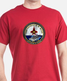 USS George HW Bush CVN-77 T-Shirt