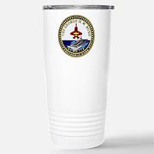 USS George Bush CVN-77 Travel Mug