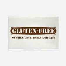 GLUTEN-FREE no wheat rye barl Rectangle Magnet
