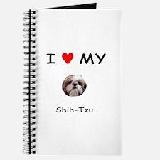 I Heart My Shih Tzu Journal