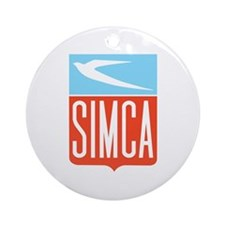 Simca Ornament (Round)