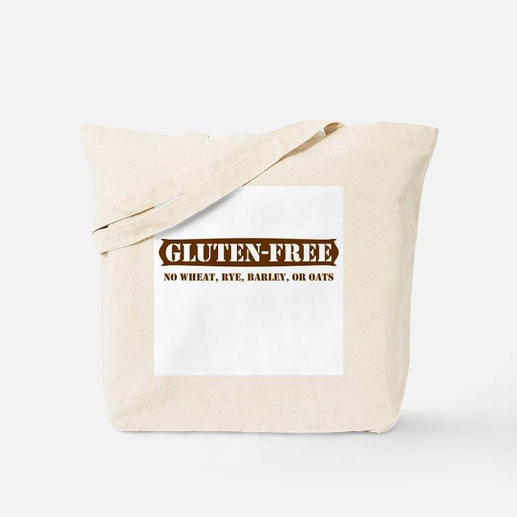 GLUTEN-FREE no wheat rye barl Tote Bag
