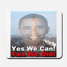 Yes We Can/Yes We Did Mousepad
