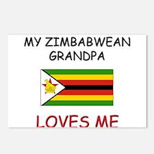 My Zimbabwean Grandpa Loves Me Postcards (Package