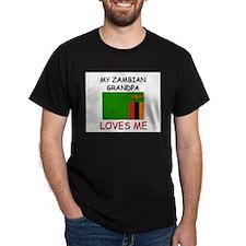My Zambian Grandpa Loves Me T-Shirt