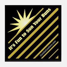 Fun-Sun-Buns - Tile Coaster