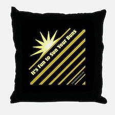 Fun-Sun-Buns - Throw Pillow