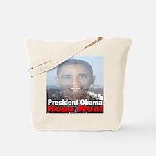 President Obama/Hope Won Tote Bag