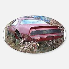 Pontiac Firebird Oval Decal
