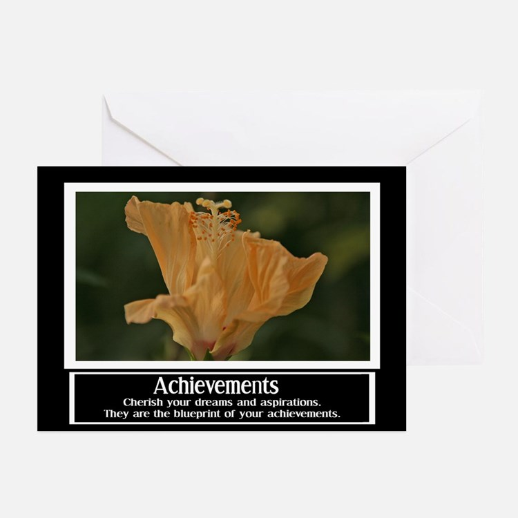 Achievements Motivational Greeting Cards (Pk of 10
