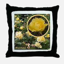 """English Rose """"Mountbatten"""" Throw Pillow"""