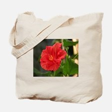 Blooming Hibiscus Tote Bag