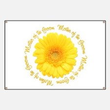 Daisy Mother of the Groom Banner
