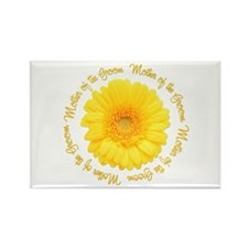 Daisy Mother of the Groom Rectangle Magnet
