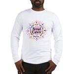 Breast Cancer Lotus Long Sleeve T-Shirt