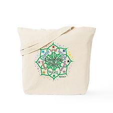 Cerebral Palsy Lotus Tote Bag