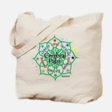 Cerebral Palsy Lotus Tote Bag