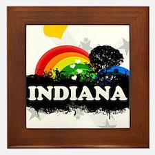Sweet Fruity Indiana Framed Tile