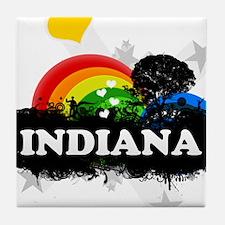 Sweet Fruity Indiana Tile Coaster
