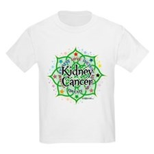 Kidney Cancer Lotus T-Shirt