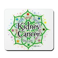 Kidney Cancer Lotus Mousepad