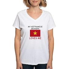 My Vietnamese Grandpa Loves Me Shirt