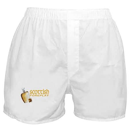 Scottish Foreplay Boxer Shorts