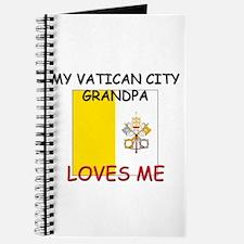My Vatican City Grandpa Loves Me Journal
