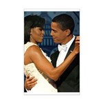 Barack and Michelle Mini Poster Print