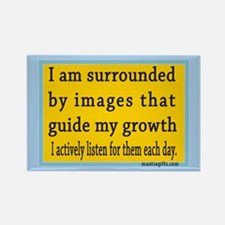 Personal Growth Rectangle Magnet