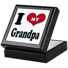 I Love My Grandpa Keepsake Box