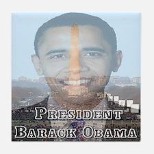 President Barack Obama Tile Coaster