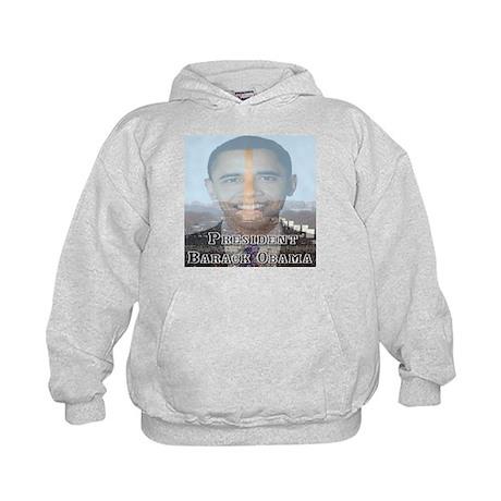 President Barack Obama Kids Hoodie