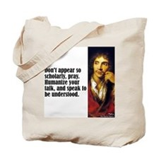 "Moliere ""Scholarly"" Tote Bag"