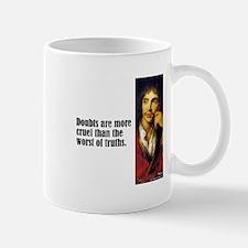 "Moliere ""Doubts"" Mug"