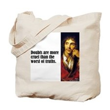 "Moliere ""Doubts"" Tote Bag"