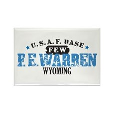 F E Warren Air Force Base Rectangle Magnet