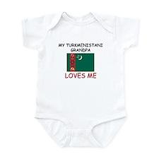 My Turkmenistani Grandpa Loves Me Infant Bodysuit