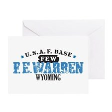 F E Warren Air Force Base Greeting Card