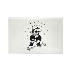 Space Cowboy Rectangle Magnet (100 pack)