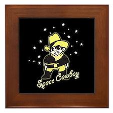 Space Cowboy Framed Tile