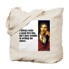 "Moliere ""First Line"" Tote Bag"