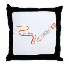 Be Creative Throw Pillow