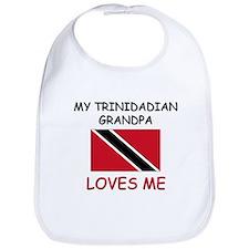 My Trinidadian Grandpa Loves Me Bib