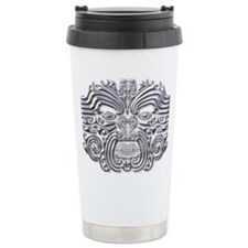 Maori Tattoo-silver Travel Mug