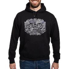 Maori Tattoo-silver Hoody
