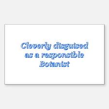 Botanist Rectangle Sticker 10 pk)