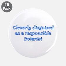 """Botanist 3.5"""" Button (10 pack)"""